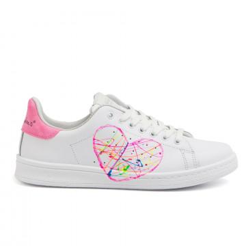 sneakers donna nira rubens dacu97pink fluo