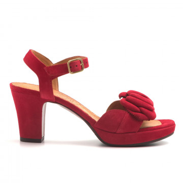 sandali donna chie mihara cm blossomante rojo 2986