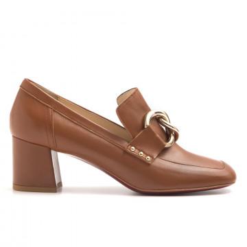 loafers woman franco colli fc 1279689 nappa cuoio