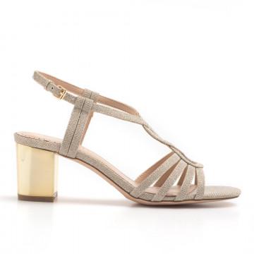 sandals woman bibi lou 927z96gt champagne