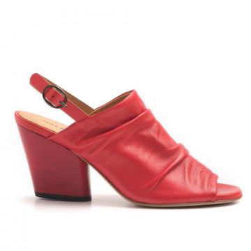 sandali donna halmanera frida 06baron rosso 3130