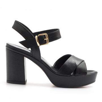 sandals woman silvia rossini 1513 5053capra nero