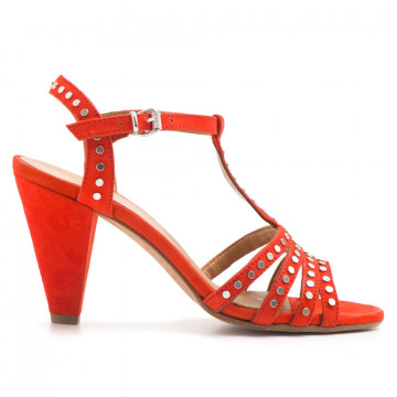 sandals woman janet  janet 41356mango fiamma