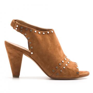 sandals woman janet  janet 41358mango cuoio