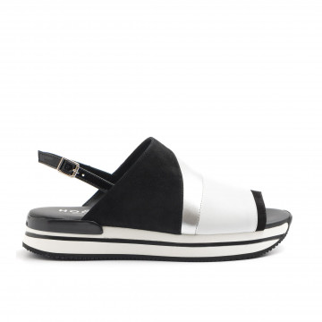 sandals woman hogan hxw2570k740ist7234