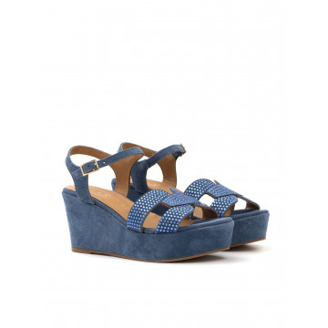 sandals woman fiorina  s 46 271 kal blue navy