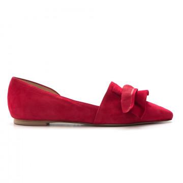 slip on donna larianna bl 1090camoscio rosso