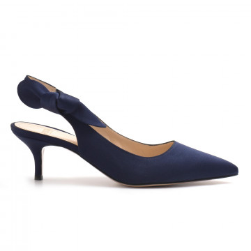 decollet donna festa milano dearaso blu navy 3246
