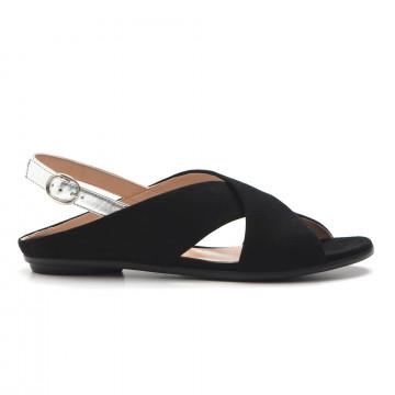 sandals woman sangiorgio 943 38735cam nero