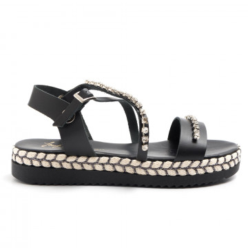 sandals woman le barbottine  1020vacc nero