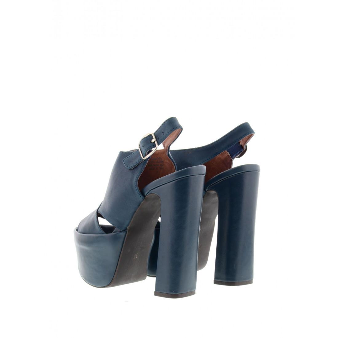 sandals woman jeffrey campbell beane 2 leather tan