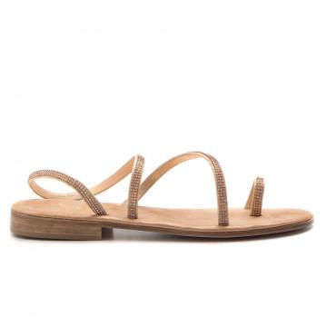 sandali donna balduccelli k24burma platino