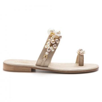 sandali donna balduccelli k18burma platino 3289