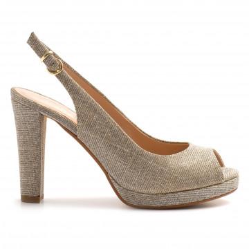 sandals woman sangiorgio 452 615galassia argento