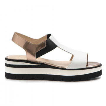 sandals woman luca grossi d 561liona vik bianco