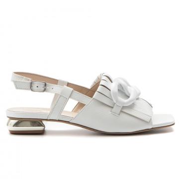 sandali donna jeannot 54015bicap bianco