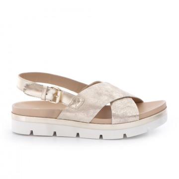sandals woman sax 22012nuvola platino