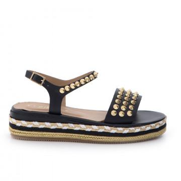 sandals woman fiorina  s164 cp400vitello  nero