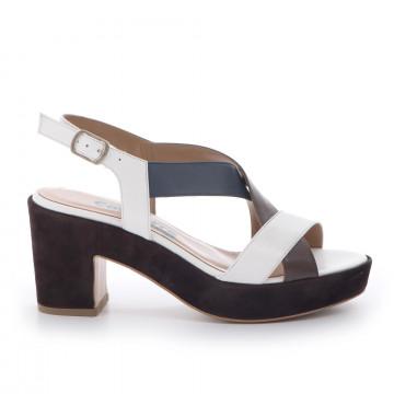 sandals woman calpierre ds1024rubens bianco