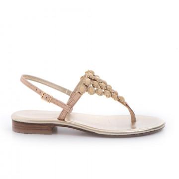 sandals woman positano 4919vall naturale