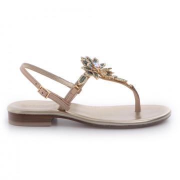 sandals woman positano 4929vall naturale
