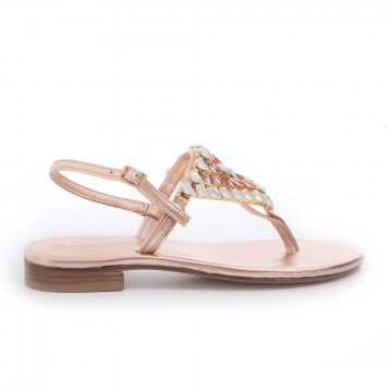 sandals woman positano 4911lam rame