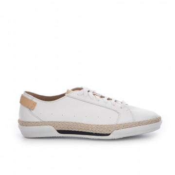 sneakers man sax 18301prince bianco