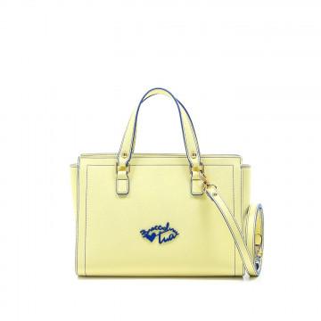 borse a mano donna braccialini b12061tua basic giallo