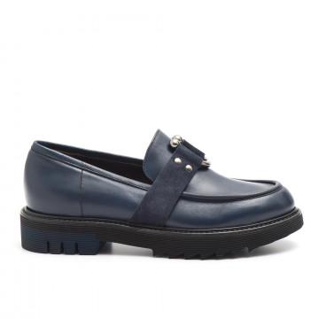 loafers woman laura bellariva 2053b 709vit blu