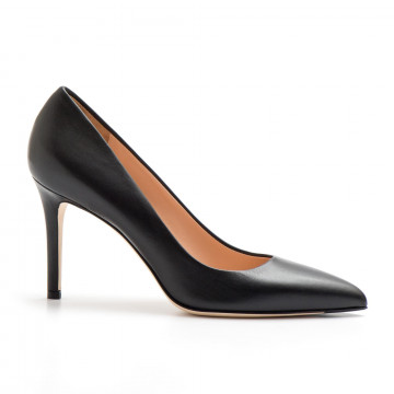 pumps woman sergio levantesi dyvanappa nera