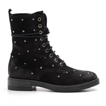 military boots woman dei colli black 213200