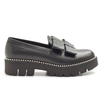 loafers woman horo nero 673 elisabetvit nero