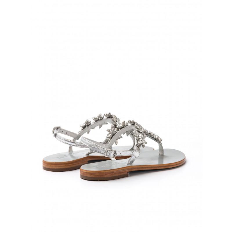 sandali donna evee 371 803 39 shsheep silvercrystal