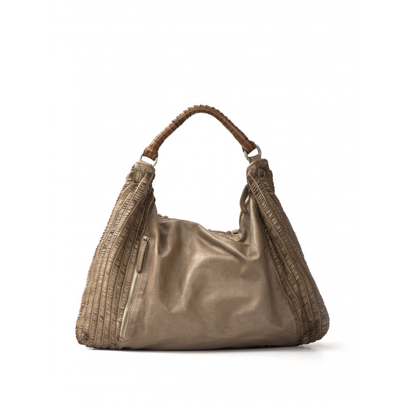 handbags woman reptiles house h 354lune sand
