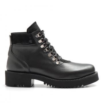 military boots woman keb 980soft nero