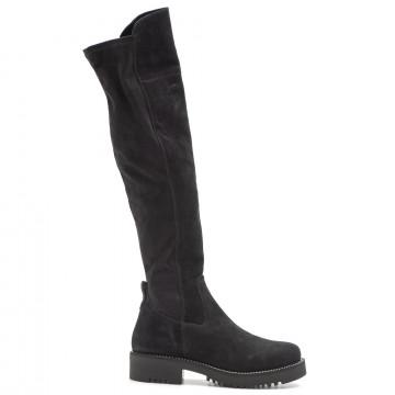 boots woman keb 984piuma nera
