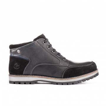 lace up ankle boots man lumberjack sm33503002 cb001 black