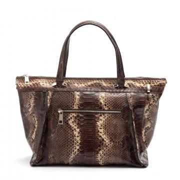 handbags woman ghibli 4770ri python