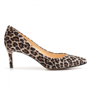 pumps woman larianna de 1111leopardo taupe