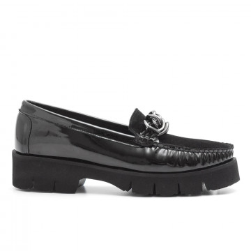loafers woman vittoria mengoni 888121 roby nero