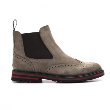 booties man brecos 808114444 go rain taupe