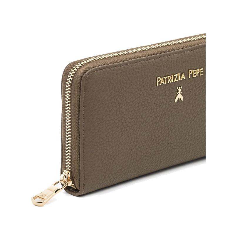 portafogli donna patrizia pepe 2v3692 av63h276 uniform gray 688