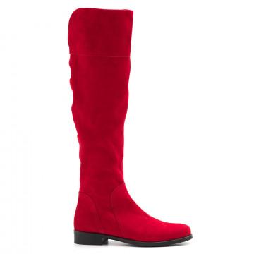 stivali donna sangiorgio ng 781cuba cam rosso 4043