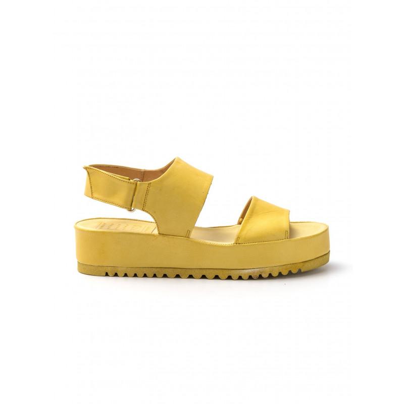 sandali donna pf16 42oves giallo 740