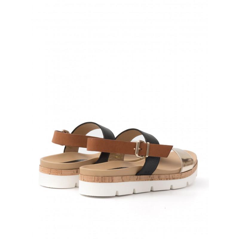 sandals woman sax 22001 bima specchio platino