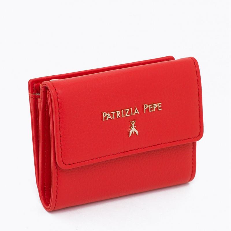 bec7e490ef portafogli donna patrizia pepe 2v8545 a4u8r631 deep mars red 4210