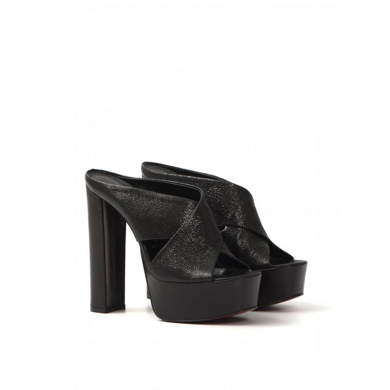 sandals woman franco colli fc1038 nappa krakle nero