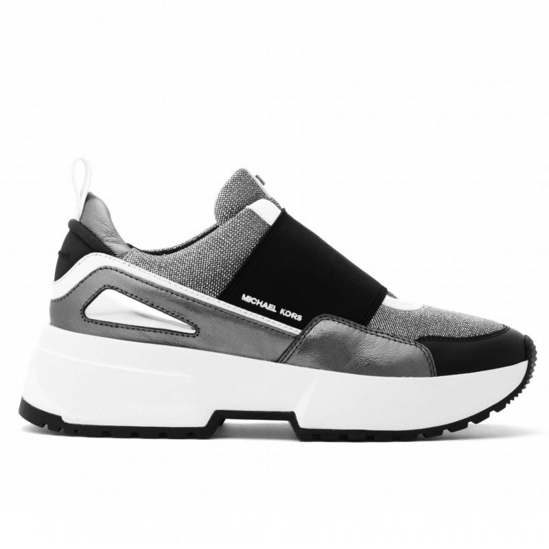 ad999535e9 Slip-on sneakers Michael Kors Cosmo argento e nero
