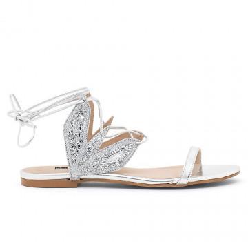 sandali donna patrizia pepe 2v8742 a5c0f1xe silver multi 4465
