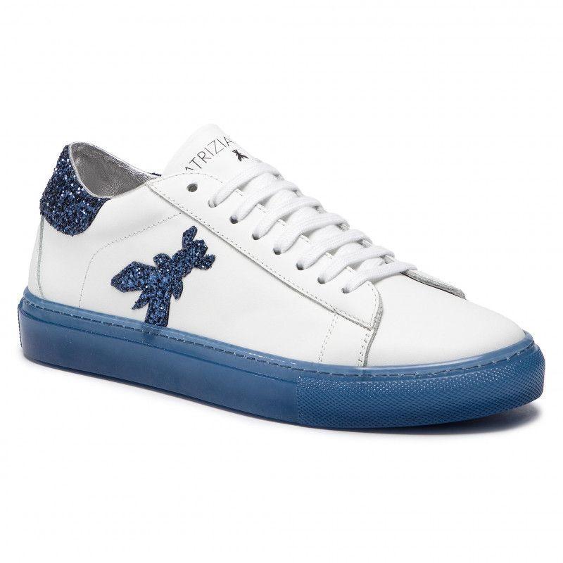 sneakers donna patrizia pepe 2v8807 a2gxj2dn white blue 4466